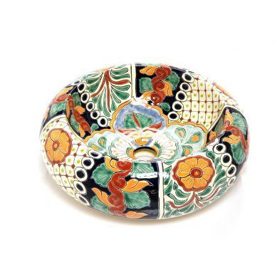 Amara - Kolorowa umywalka nablatowa