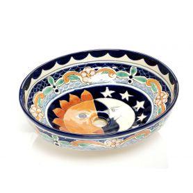 Bibiana - meksykańska umywalka ceramiczna