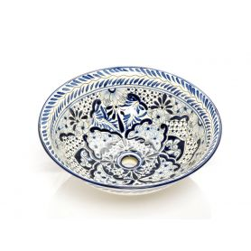 Salvadora - Meksykańska umywalka ceramiczna