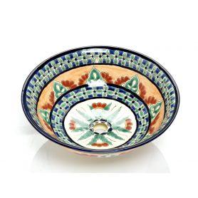Carmita - Ceramiczna umywalka z Meksyku