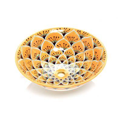 Sofia - Umywalka ceramiczna nablatowa