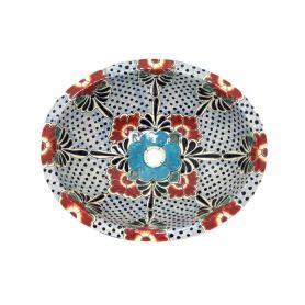 Floresa - meksykańska umywalka ceramiczna