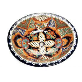 Linda - Kolorowa Meksykańska Umywalka