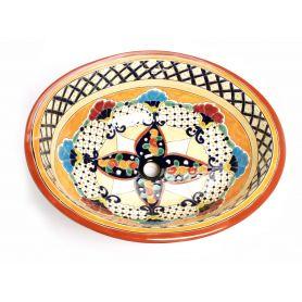 Lucrecia - Umywalka wpuszczana z Meksyku