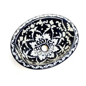 Dolores - umywalka ceramiczna z Meksyku