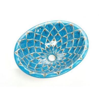 Aqua Azul - umywalka wpuszczana z Meksyku