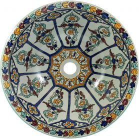 Dilma - Designerska umywalka z Maroka