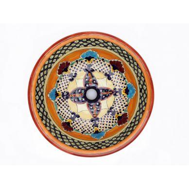 Lucrecia - Dekoracyjna umywalka okrągła