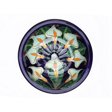 Calia - Dekoracyjna umywalka okragła