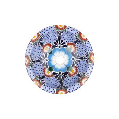 Floresa - Umywalka okrągła wpuszczana mała