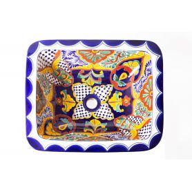 Linda - umywalka wpuszczana z Meksyku
