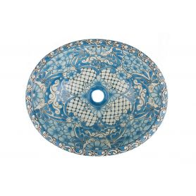 Lorena - Meksykańska umywalka ceramiczna