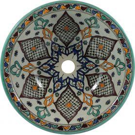 Kama - ceramiczna umywalka z Maroka