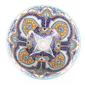 Gerena - ceramiczna umywalka z Maroka