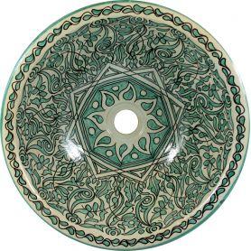 Hamza - ceramiczna umywalka z Maroka