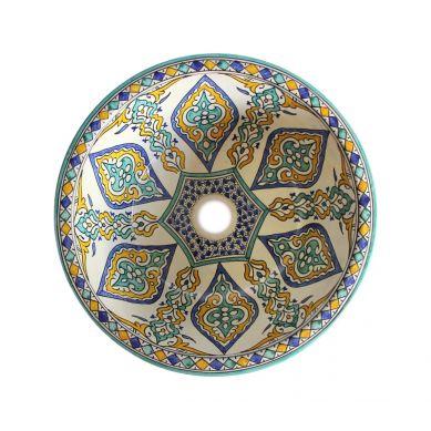 Soudiba - wzorzysta umywalka z Maroka