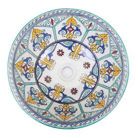 Brenes - Ceramiczna umywalka nablatowa
