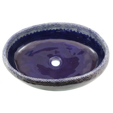 Amelia - ręcznie formowana umywalka z koronką