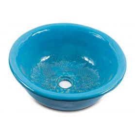 Lucja - artystyczna umywalka z wzorem