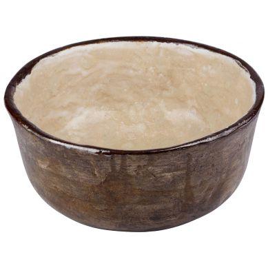 Wisława - gliniana umywalka w kolorze ecru