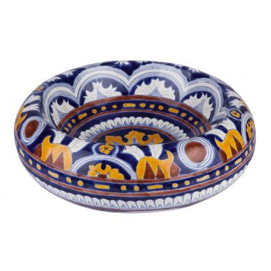 Imelda - kolorowa umywalka nablatowa