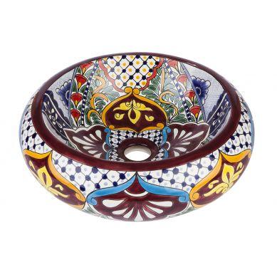 Leonor - kolorowa umywalka nablatowa