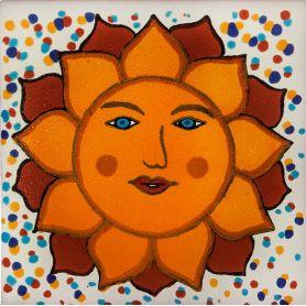 Vincente - Płytki ceramiczne słońce 15x15