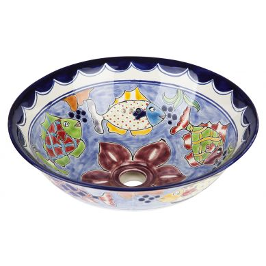 Delmar - Umywalka ceramiczna nablatowa
