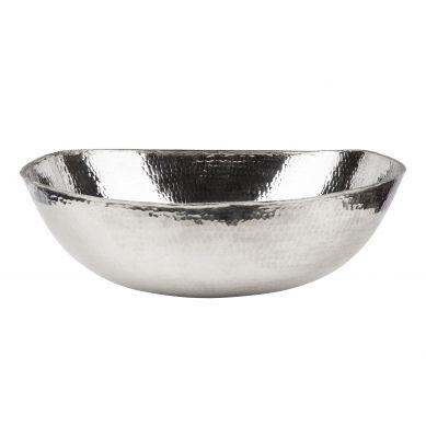 Pepita - niklowana umywalka
