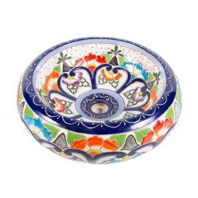 Victoria - Ceramiczna umywalka zdobiona z reliefem
