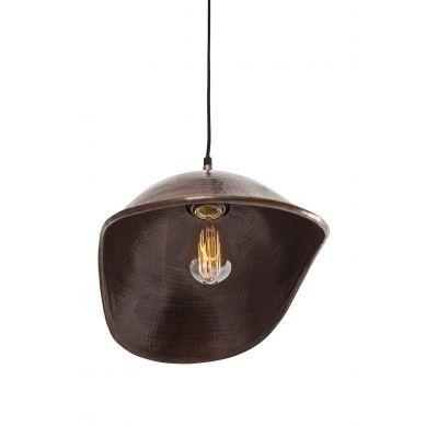 Dátil - ręcznie kuta lampa z Meksyku - czysta miedź
