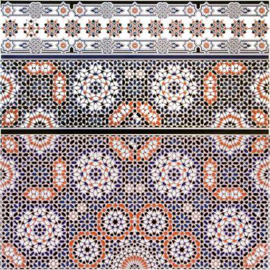Bandar border - Marokańskie płytki dekoracyjne