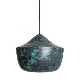 Ciruela - lampa z Meksyku patynowana - czysta miedź