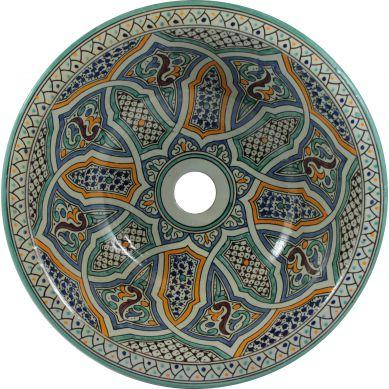 Mariah - recznie robiona umywalka z Maroka