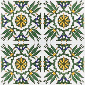 Radija - ceramiczne płytki z Tunezji 20x20cm, 12 płytek w zestawie (0,5m2)