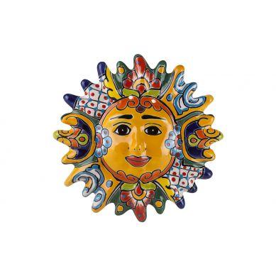 Ceramiczne słońce z Meksyku - 32 cm