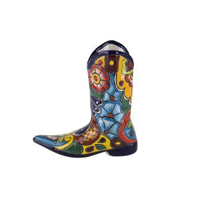 Ceramiczny but doniczka z Meksyku