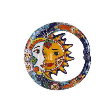 Ceramiczna ozdoba - Eklipsa z Meksyku - 37 cm