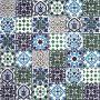 Muhit - dekoracyjny patchwork z Tunezji 10 x 10 cm