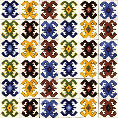 Hucul - patchwork z płytek ceramicznych - 30 sztuk