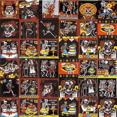 Cartrina mix - patchwork z płytek maksykańskich