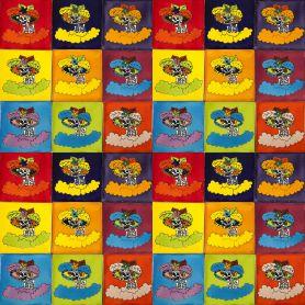 Catrinas - Pop-art płytki Talavera - 30 sztuk
