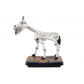 Caballo y huesos - tradycyjna figurka konia z Meksyku