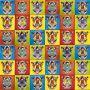 Virgenes - pop art płytki Talavera - 30 sztuk