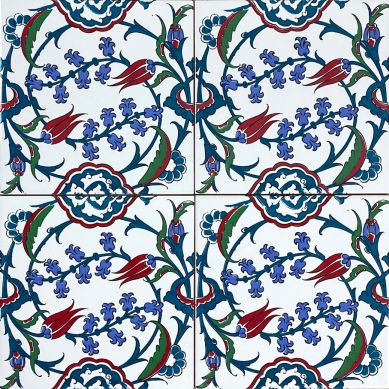 Pinar - wzorzyste płytki dekoracyjne z Turcji