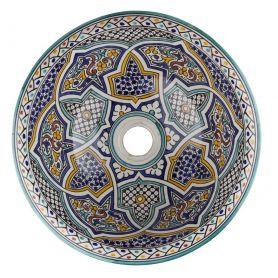 Mikhat - Umywalka ceramiczna z Maroka