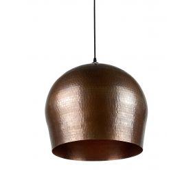 Cebolla - lampa z Meksyku patynowana - czysta miedź