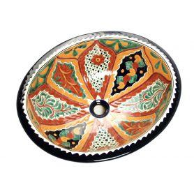 Dalila - Umywalka wpuszczana owalna