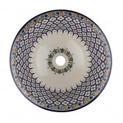 Tefeza - Marokańska umywalka z ceramiki