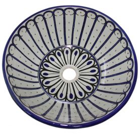 Khadija - ceramiczna umywalka z Maroka